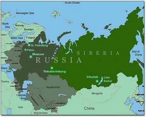 Cartina Russia Siberia.Fiscooggi It Russia Scende L Imposta Sui Profitti Per Dribblare La Crisi