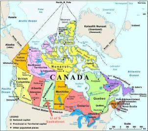 Canada Cartina Fisica.Fiscooggi It Canada Per Privati E Impresepagare Le Tasse E Piu Facile