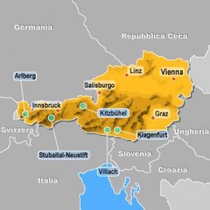 Cartina Del Austria.Fiscooggi It Austria Non Si Detrae L Iva Se L Uso Del Bene E Privato