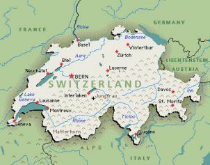 La Cartina Geografica Della Svizzera.Fiscooggi It Svizzera Con Un Referendum Arriva Il Si Alla Riforma Fiscale